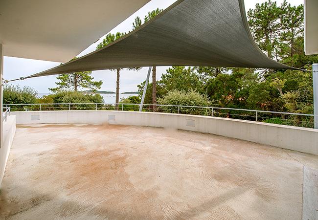solution Mât ombrage terrasse