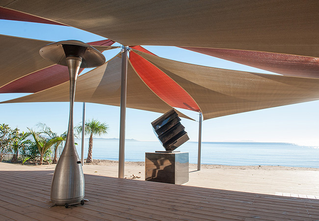 French shade sail design