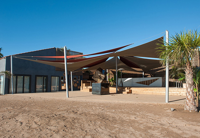 shade sails canopy