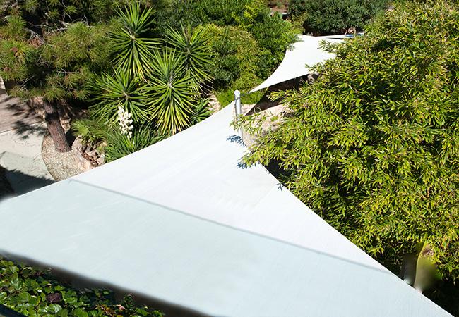 Shade sail canopy france