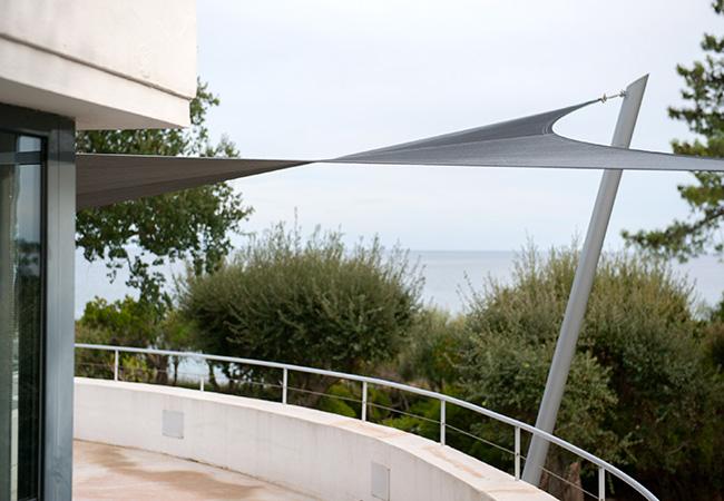 shade sail installation Frejus