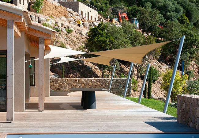 Shade sail design Cannes France