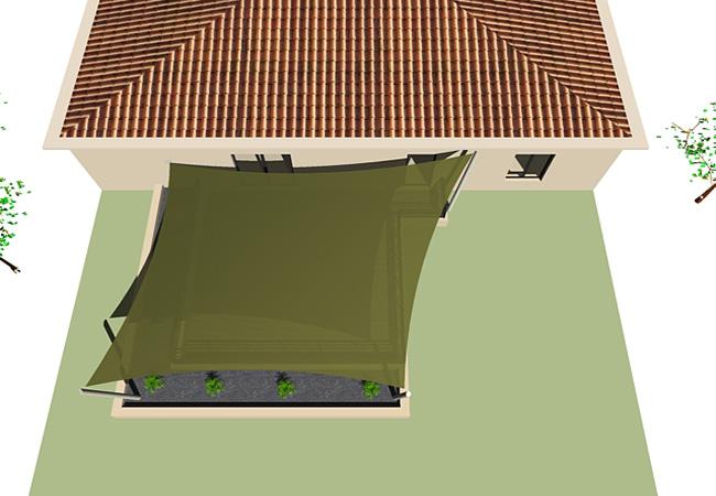 toile terrasse 3d