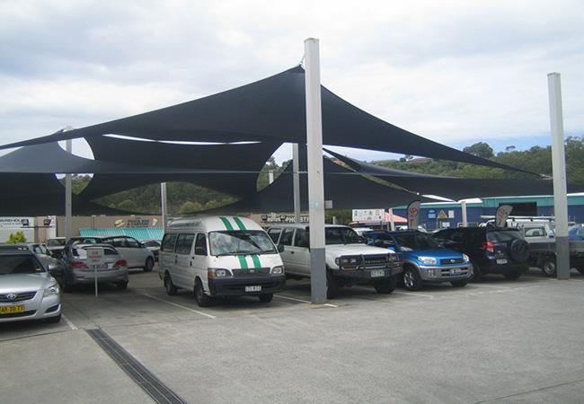 voile solaire voiture