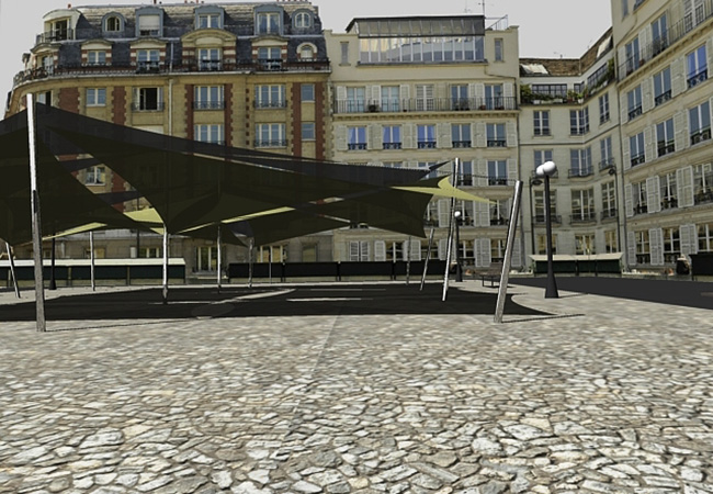Shade sail building france